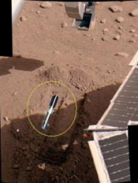 Lightsaber on Mars