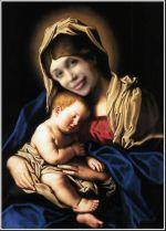 Sassoferrato Madonna and Child